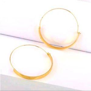 🌈2/$30 New Anthro Annelise Hoop Earrings